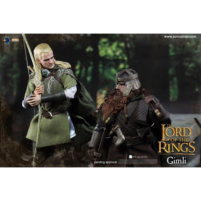 asmus - NEW PRODUCT: Asmus Toys The Lord of the Rings Series: Gimli (LOTR018) 1111