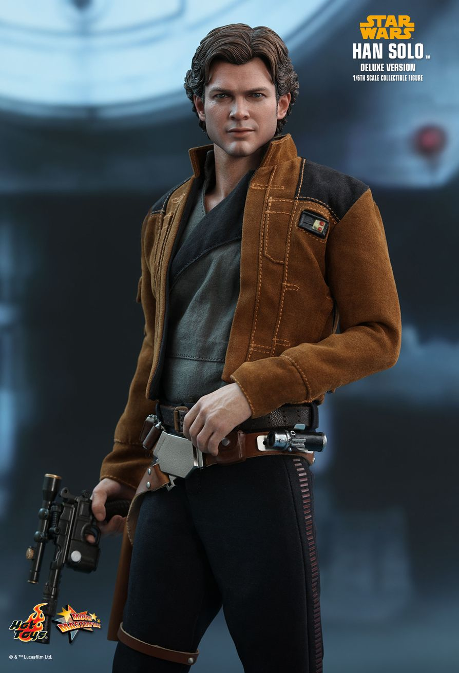 NEW PRODUCT: HOT TOYS: SOLO: A STAR WARS STORY HAN SOLO (TWO VERSIONS) 1/6TH SCALE COLLECTIBLE FIGURE 1130