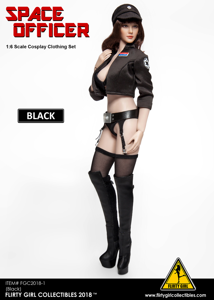 NEW PRODUCT: FLIRTY GIRL COLLECTIBLES New: 1/6 Star Wars cosplay Women's Sexy Set (Tricolor) 11554810