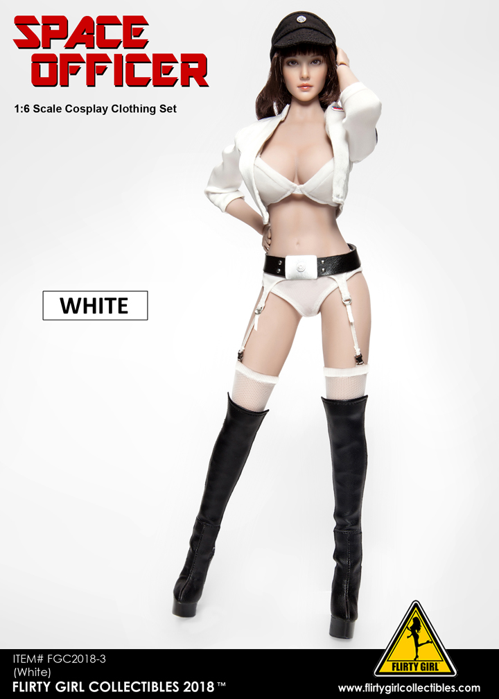 NEW PRODUCT: FLIRTY GIRL COLLECTIBLES New: 1/6 Star Wars cosplay Women's Sexy Set (Tricolor) 11560410