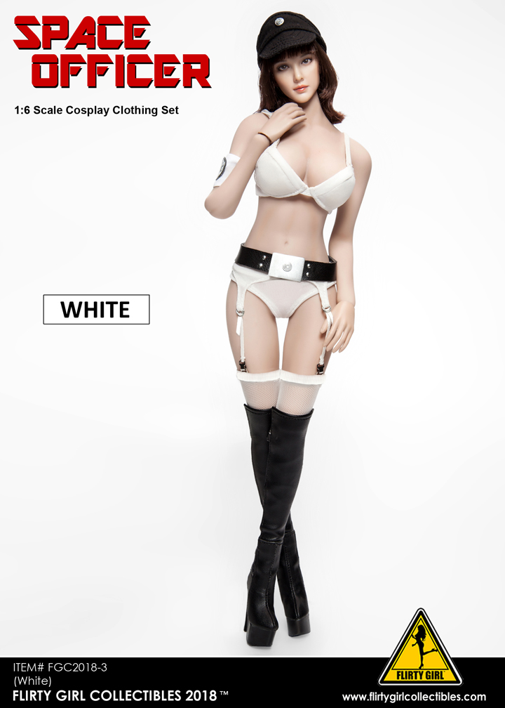 NEW PRODUCT: FLIRTY GIRL COLLECTIBLES New: 1/6 Star Wars cosplay Women's Sexy Set (Tricolor) 11560511