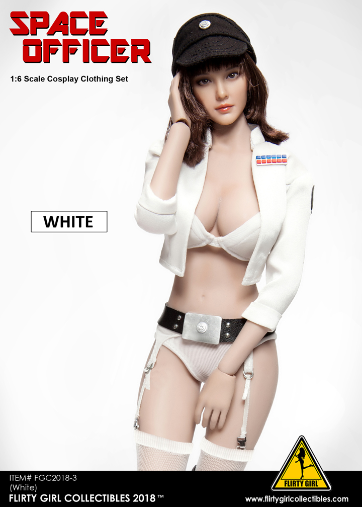NEW PRODUCT: FLIRTY GIRL COLLECTIBLES New: 1/6 Star Wars cosplay Women's Sexy Set (Tricolor) 11560710