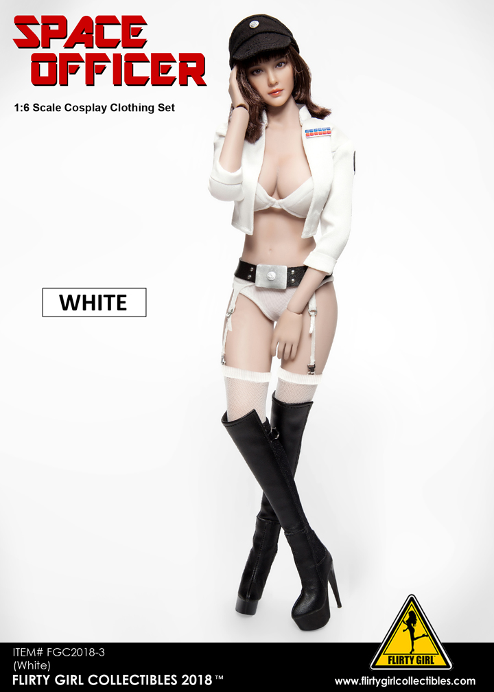 NEW PRODUCT: FLIRTY GIRL COLLECTIBLES New: 1/6 Star Wars cosplay Women's Sexy Set (Tricolor) 11560910