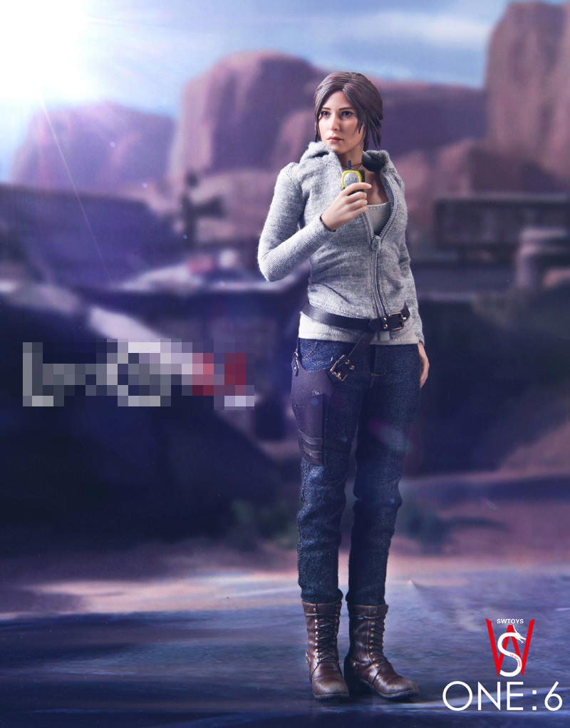 Videogame - NEW PRODUCT: [SW-FS015] SW Toys Croft 2.0 1:6 Female Action Figure Boxed Set 11_81410