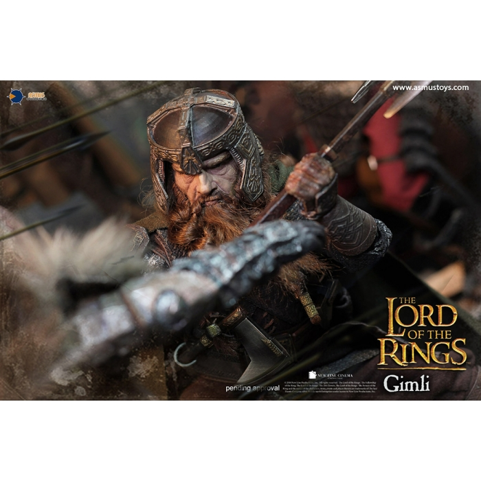 asmus - NEW PRODUCT: Asmus Toys The Lord of the Rings Series: Gimli (LOTR018) 1210