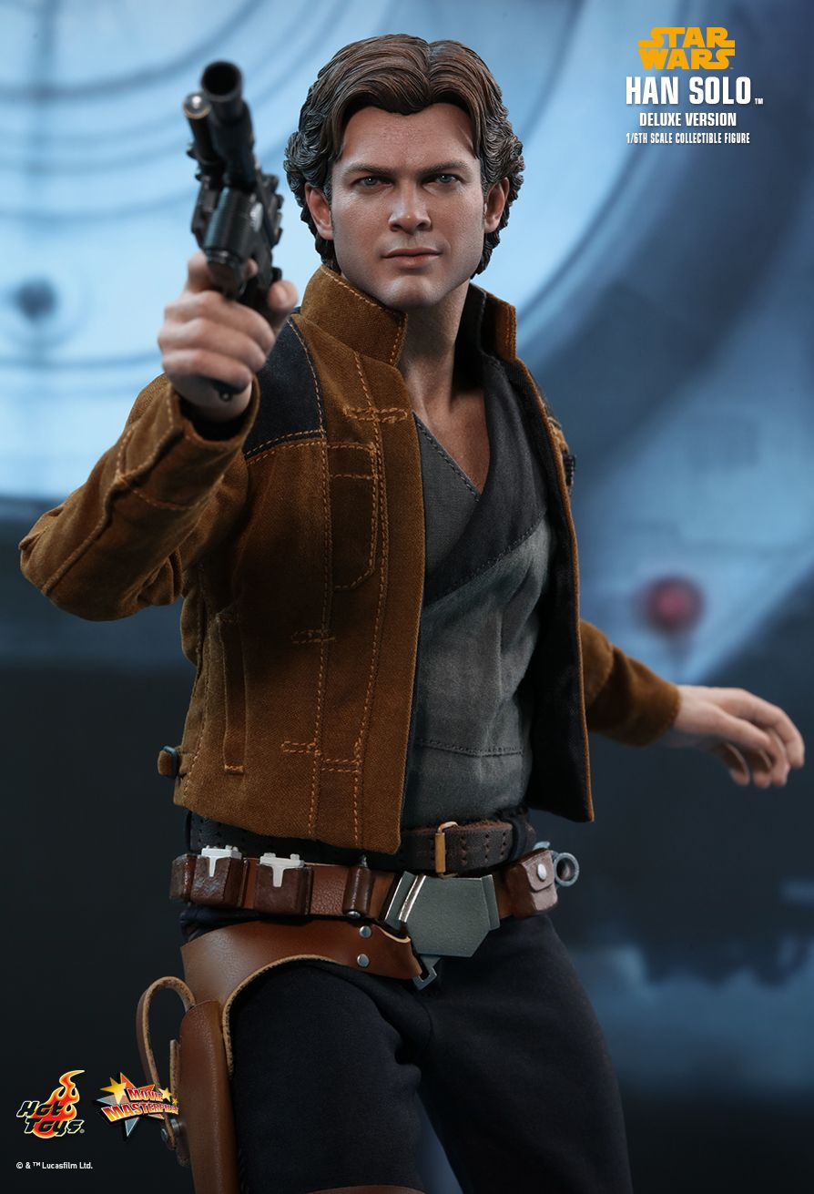 NEW PRODUCT: HOT TOYS: SOLO: A STAR WARS STORY HAN SOLO (TWO VERSIONS) 1/6TH SCALE COLLECTIBLE FIGURE 1228