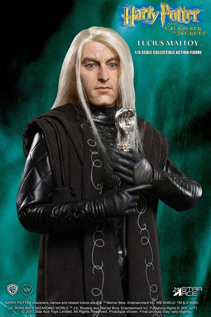 NEW PRODUCT: Star Ace Toys New: 1/6 Harry Potter and the Half-Blood Prince - Lucius Prisoner Edition (SA0040) 124