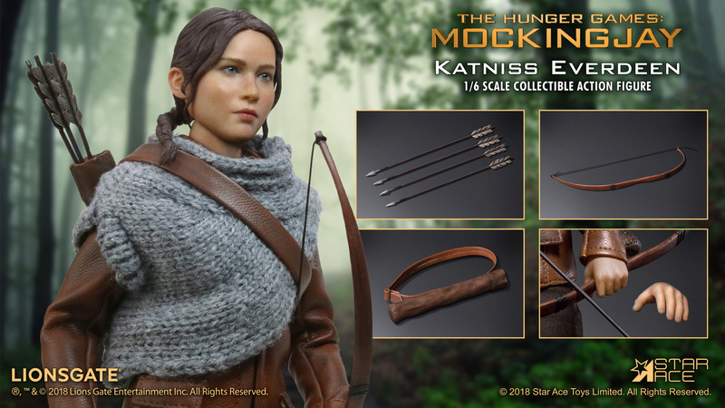hungergames - NEW PRODUCT: [SA-0036] The Hunger Games Katniss Everdeen Hunting Version Star Ace 1/6 Figures 12_69310