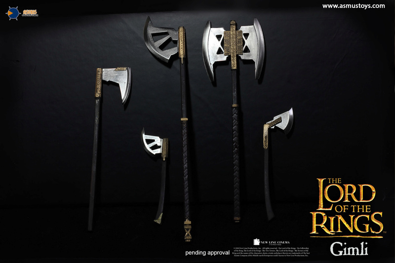 asmus - NEW PRODUCT: Asmus Toys The Lord of the Rings Series: Gimli (LOTR018) 1310