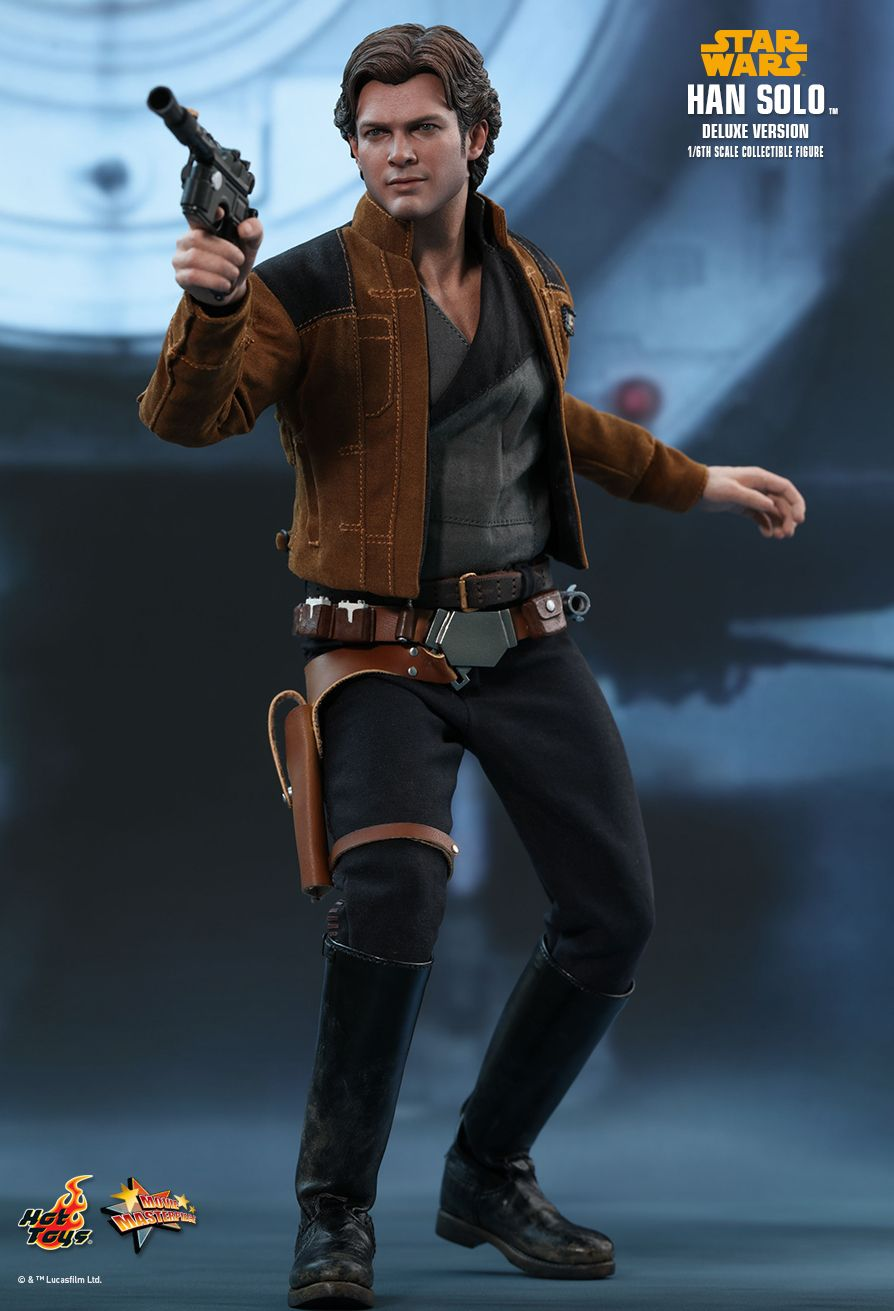 NEW PRODUCT: HOT TOYS: SOLO: A STAR WARS STORY HAN SOLO (TWO VERSIONS) 1/6TH SCALE COLLECTIBLE FIGURE 1326