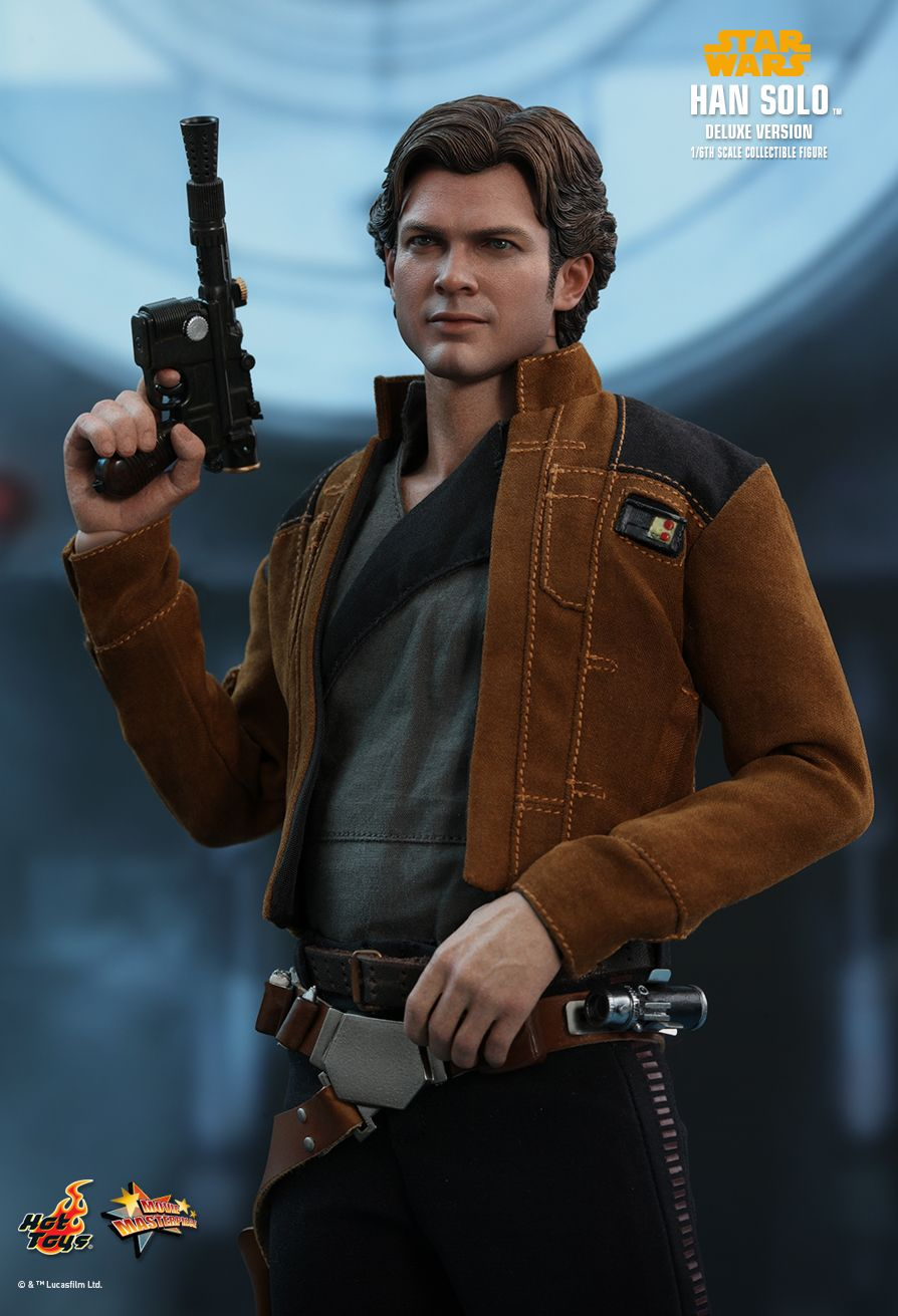 NEW PRODUCT: HOT TOYS: SOLO: A STAR WARS STORY HAN SOLO (TWO VERSIONS) 1/6TH SCALE COLLECTIBLE FIGURE 1424