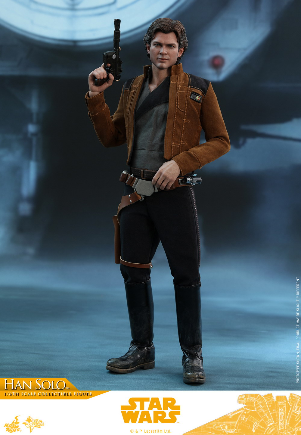 NEW PRODUCT: HOT TOYS: SOLO: A STAR WARS STORY HAN SOLO (TWO VERSIONS) 1/6TH SCALE COLLECTIBLE FIGURE 144