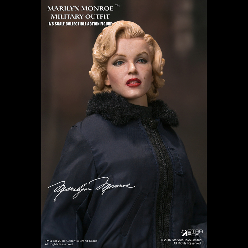 NEW PRODUCT: Star Ace Toys New: 1/6 Marilyn Monroe / Marilyn Monroe Military Jacket Edition (#SA0055) 14435110