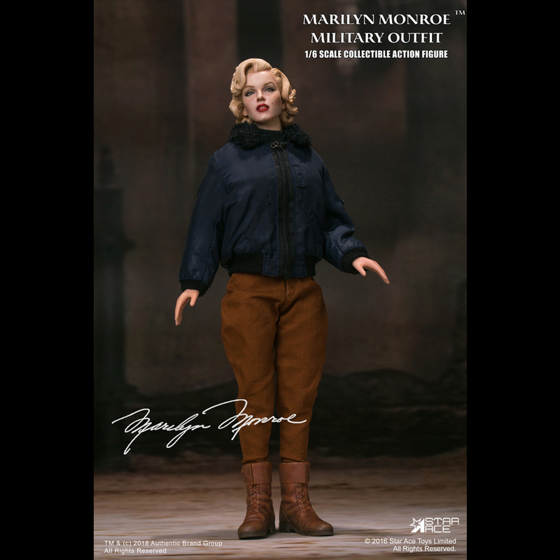 NEW PRODUCT: Star Ace Toys New: 1/6 Marilyn Monroe / Marilyn Monroe Military Jacket Edition (#SA0055) 14435410