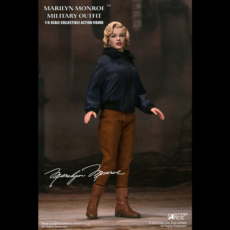 NEW PRODUCT: Star Ace Toys New: 1/6 Marilyn Monroe / Marilyn Monroe Military Jacket Edition (#SA0055) 14435710