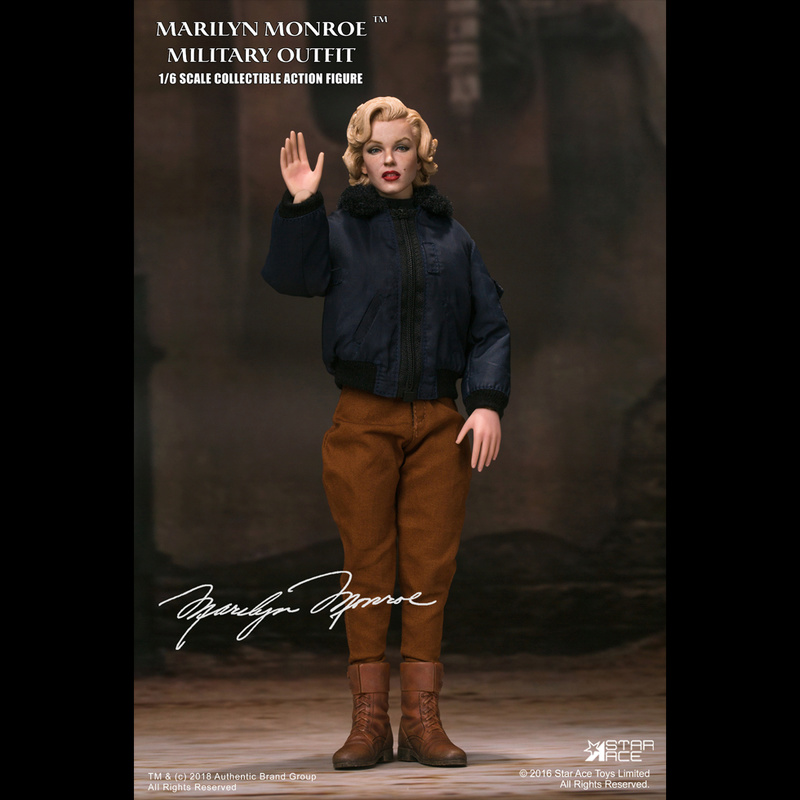NEW PRODUCT: Star Ace Toys New: 1/6 Marilyn Monroe / Marilyn Monroe Military Jacket Edition (#SA0055) 14440110