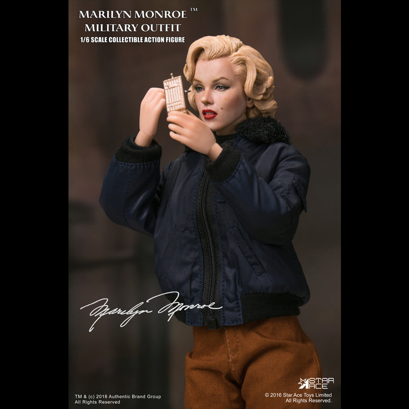 NEW PRODUCT: Star Ace Toys New: 1/6 Marilyn Monroe / Marilyn Monroe Military Jacket Edition (#SA0055) 14440610