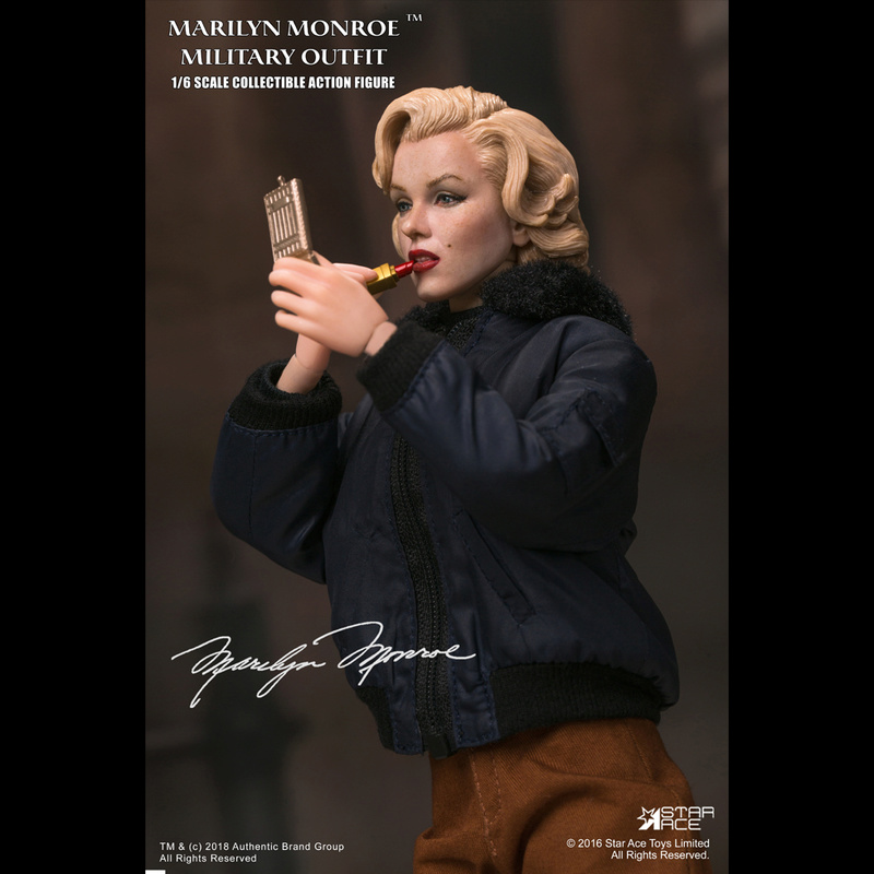 NEW PRODUCT: Star Ace Toys New: 1/6 Marilyn Monroe / Marilyn Monroe Military Jacket Edition (#SA0055) 14441110