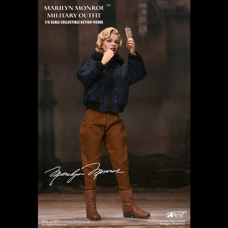 NEW PRODUCT: Star Ace Toys New: 1/6 Marilyn Monroe / Marilyn Monroe Military Jacket Edition (#SA0055) 14441510