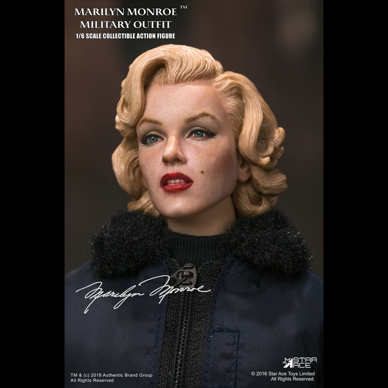 NEW PRODUCT: Star Ace Toys New: 1/6 Marilyn Monroe / Marilyn Monroe Military Jacket Edition (#SA0055) 14442510