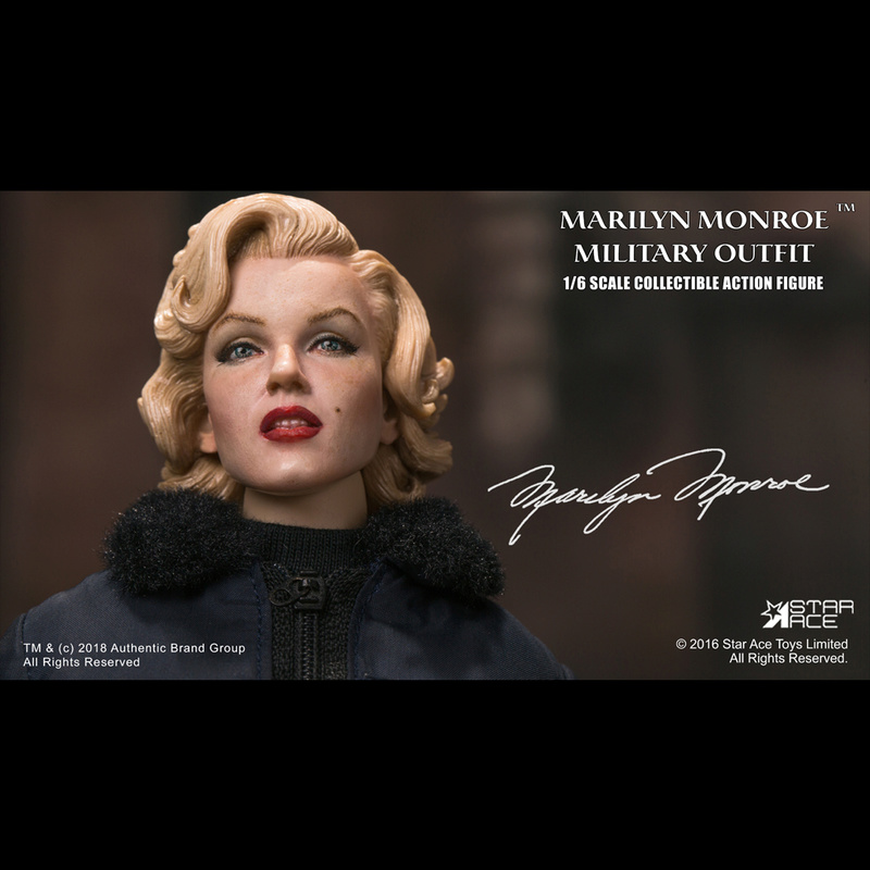 NEW PRODUCT: Star Ace Toys New: 1/6 Marilyn Monroe / Marilyn Monroe Military Jacket Edition (#SA0055) 14443210