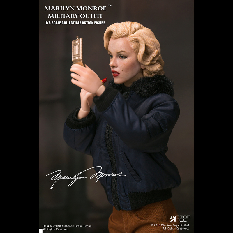 NEW PRODUCT: Star Ace Toys New: 1/6 Marilyn Monroe / Marilyn Monroe Military Jacket Edition (#SA0055) 14443410