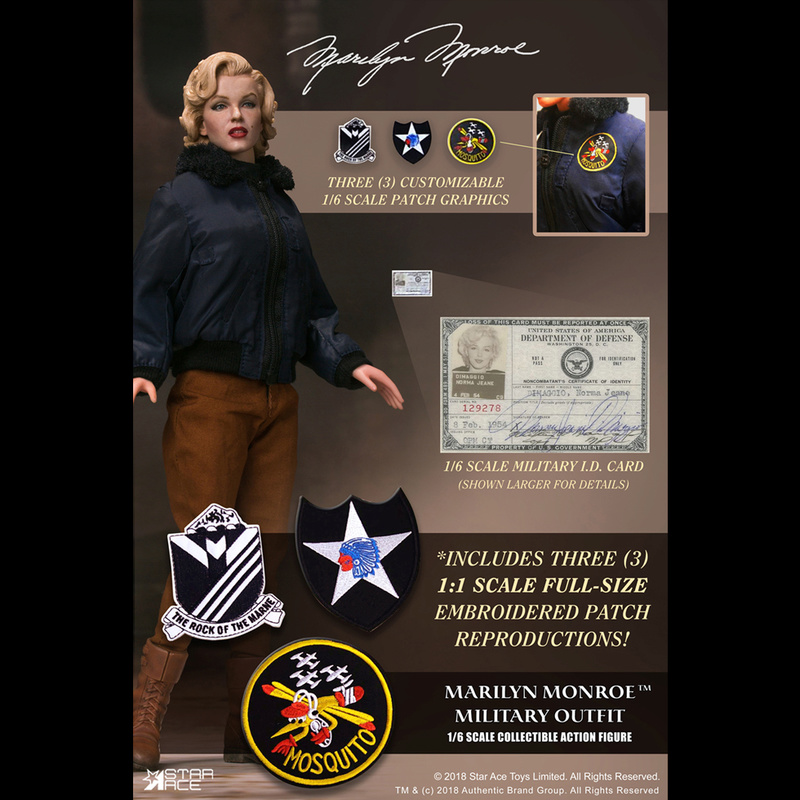 NEW PRODUCT: Star Ace Toys New: 1/6 Marilyn Monroe / Marilyn Monroe Military Jacket Edition (#SA0055) 14443810