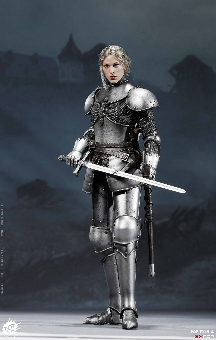 knight - NEW PRODUCT: POPTOYS New Products: 1/6 St. Knights - Assault Edition & Triumph Edition & Iron Armor (POP-EX19 ABC) 150