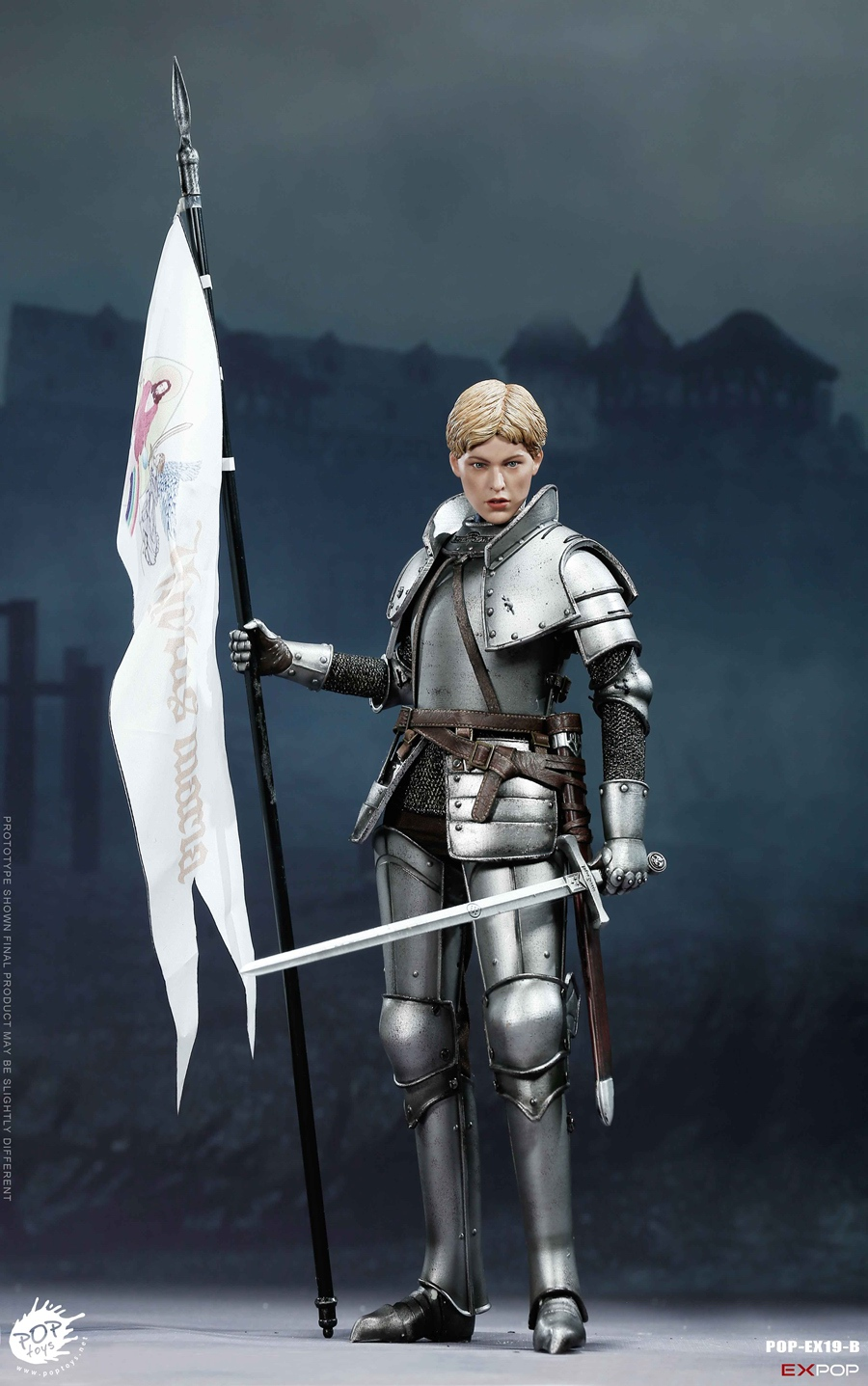 NEW PRODUCT: POPTOYS New Products: 1/6 St. Knights - Assault Edition & Triumph Edition & Iron Armor (POP-EX19 ABC) 151