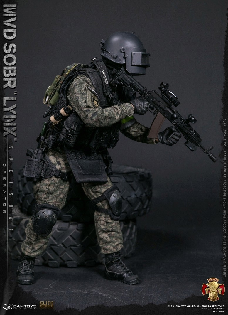 NEW PRODUCT: DAMTOYS : 1/6 RUSSIAN SPETSNAZ MVD - SOBR LYNX Action Figure (78058#) 15105210