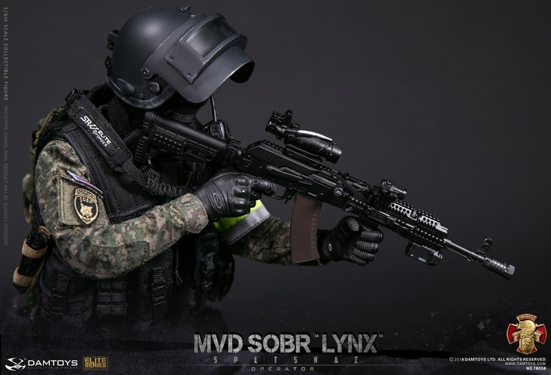 NEW PRODUCT: DAMTOYS : 1/6 RUSSIAN SPETSNAZ MVD - SOBR LYNX Action Figure (78058#) 15105310