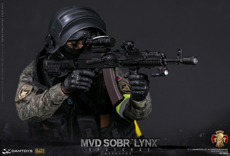 NEW PRODUCT: DAMTOYS : 1/6 RUSSIAN SPETSNAZ MVD - SOBR LYNX Action Figure (78058#) 15105410