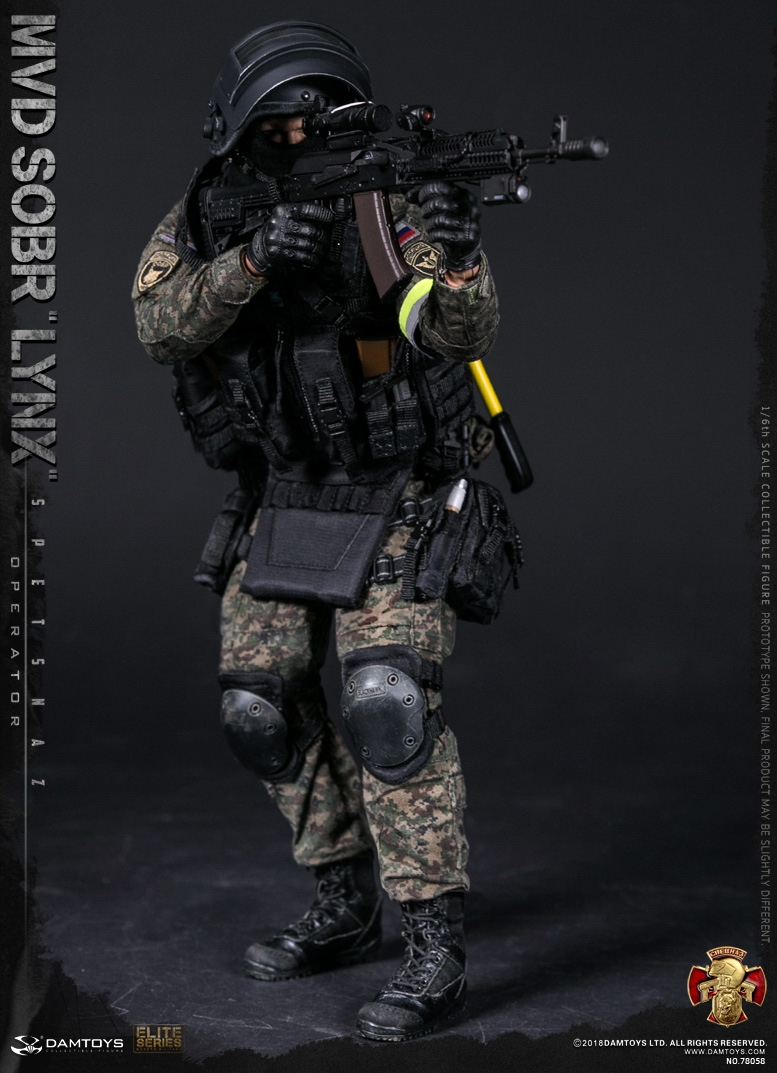NEW PRODUCT: DAMTOYS : 1/6 RUSSIAN SPETSNAZ MVD - SOBR LYNX Action Figure (78058#) 15105510
