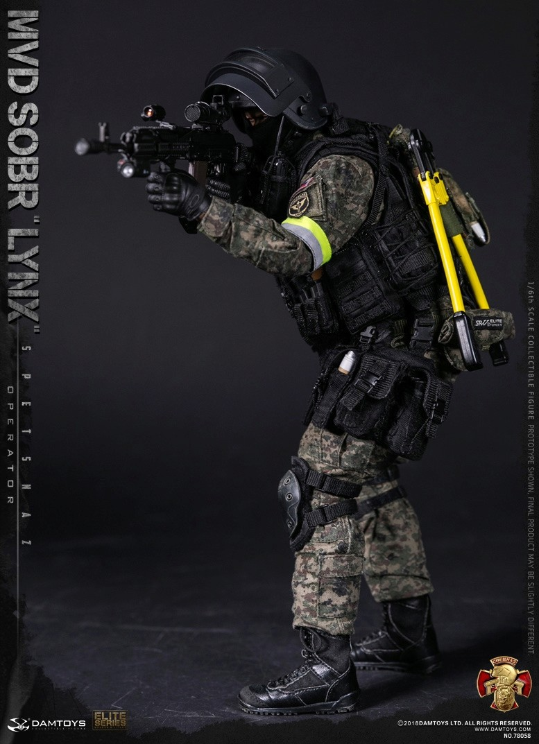 NEW PRODUCT: DAMTOYS : 1/6 RUSSIAN SPETSNAZ MVD - SOBR LYNX Action Figure (78058#) 15105511