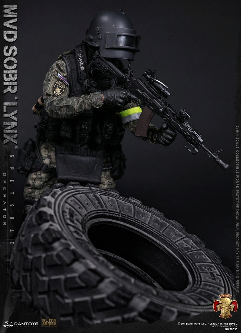 NEW PRODUCT: DAMTOYS : 1/6 RUSSIAN SPETSNAZ MVD - SOBR LYNX Action Figure (78058#) 15105610