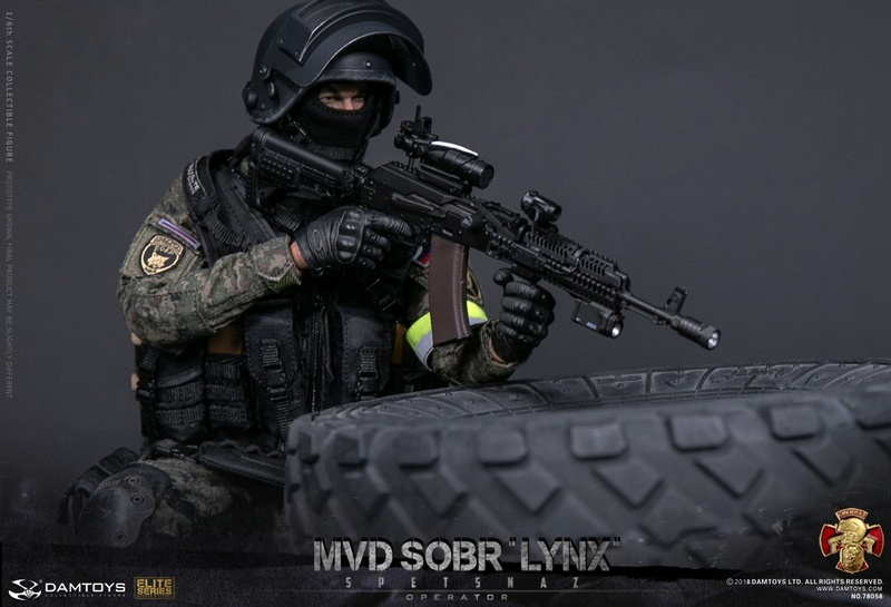 NEW PRODUCT: DAMTOYS : 1/6 RUSSIAN SPETSNAZ MVD - SOBR LYNX Action Figure (78058#) 15105710