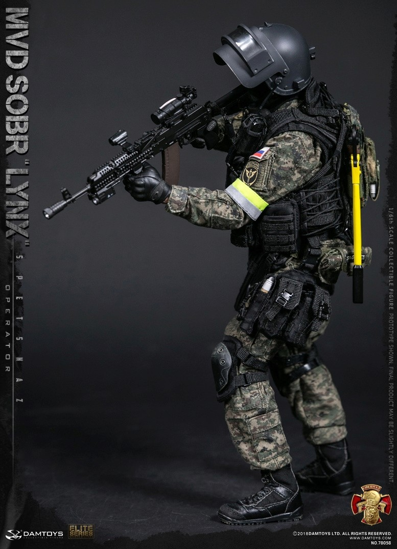 NEW PRODUCT: DAMTOYS : 1/6 RUSSIAN SPETSNAZ MVD - SOBR LYNX Action Figure (78058#) 15105811