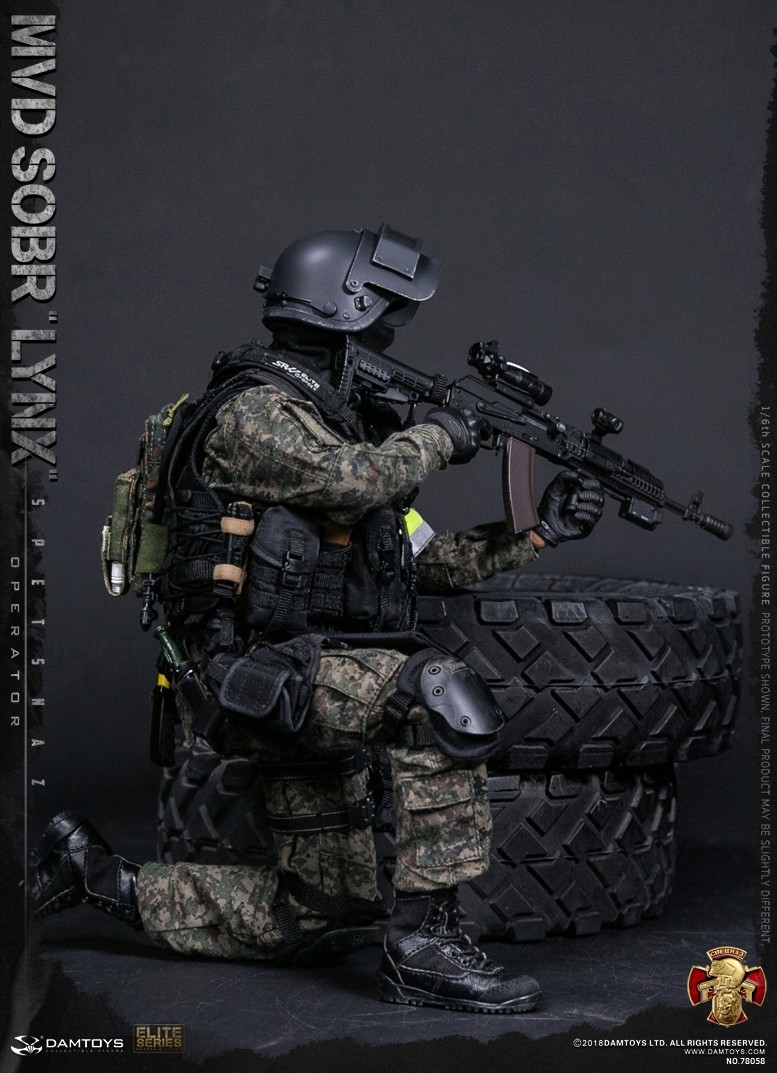NEW PRODUCT: DAMTOYS : 1/6 RUSSIAN SPETSNAZ MVD - SOBR LYNX Action Figure (78058#) 15105910