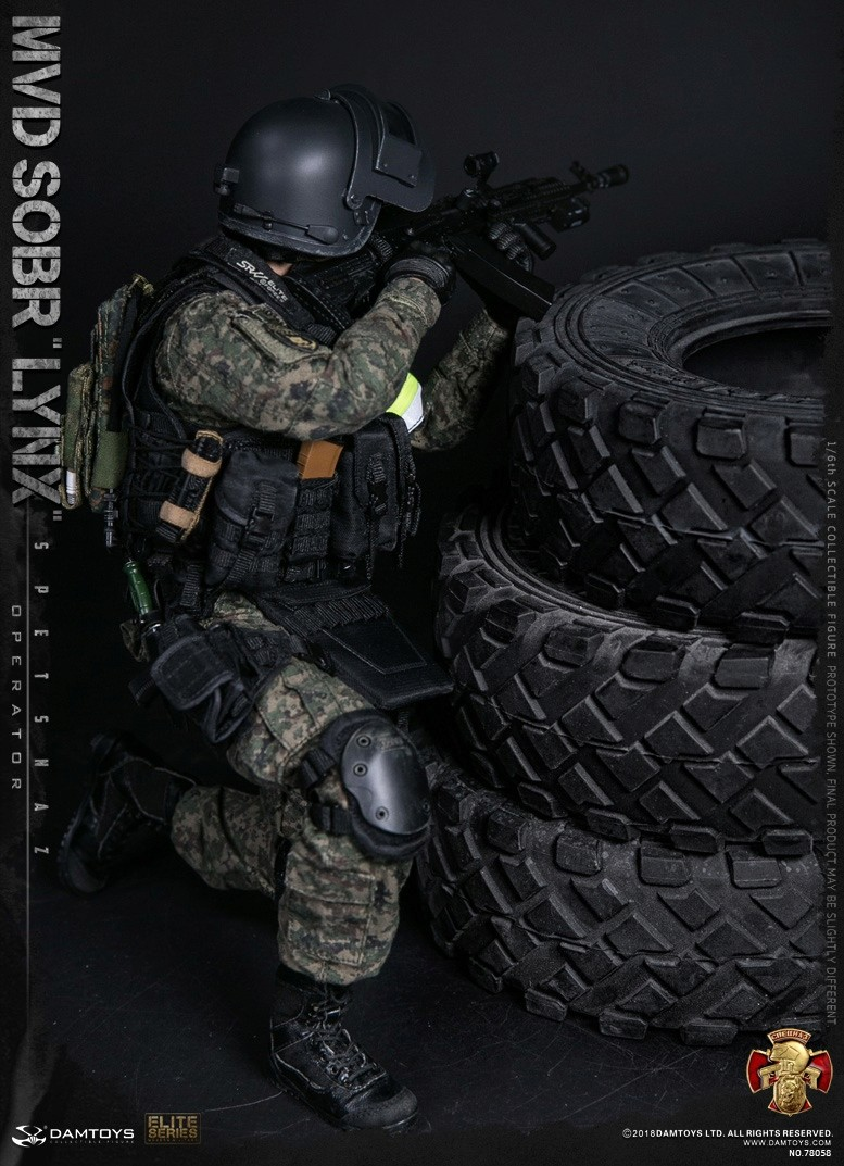 NEW PRODUCT: DAMTOYS : 1/6 RUSSIAN SPETSNAZ MVD - SOBR LYNX Action Figure (78058#) 15110011