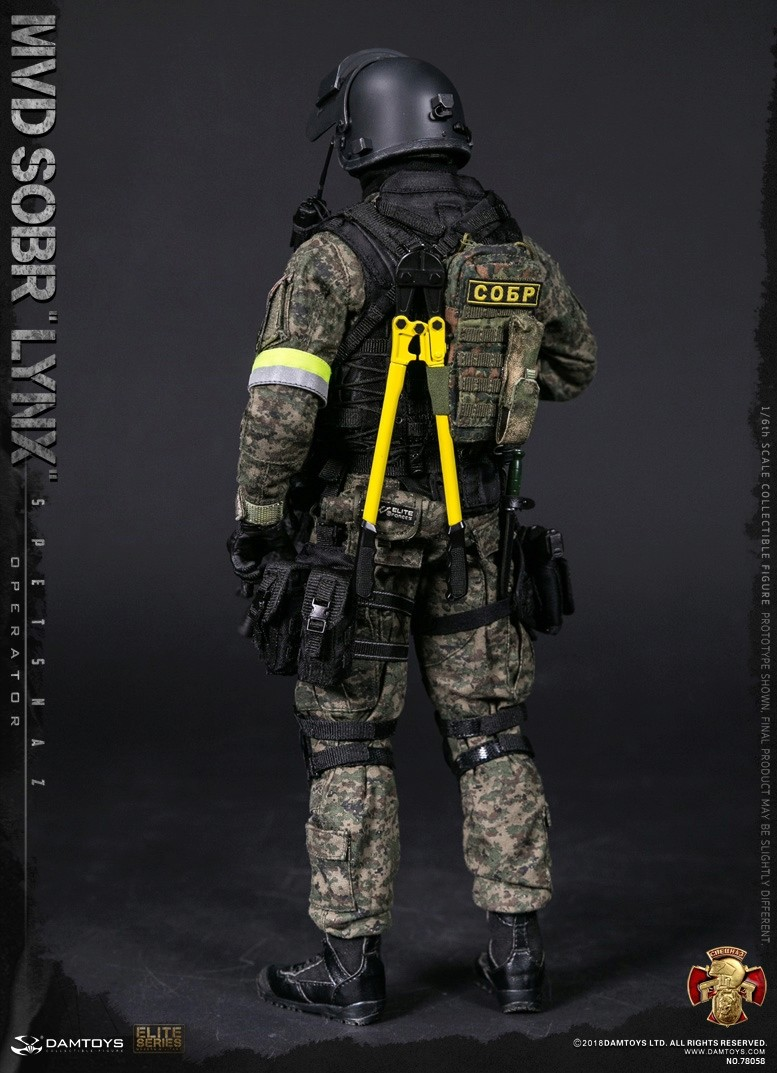 NEW PRODUCT: DAMTOYS : 1/6 RUSSIAN SPETSNAZ MVD - SOBR LYNX Action Figure (78058#) 15111010