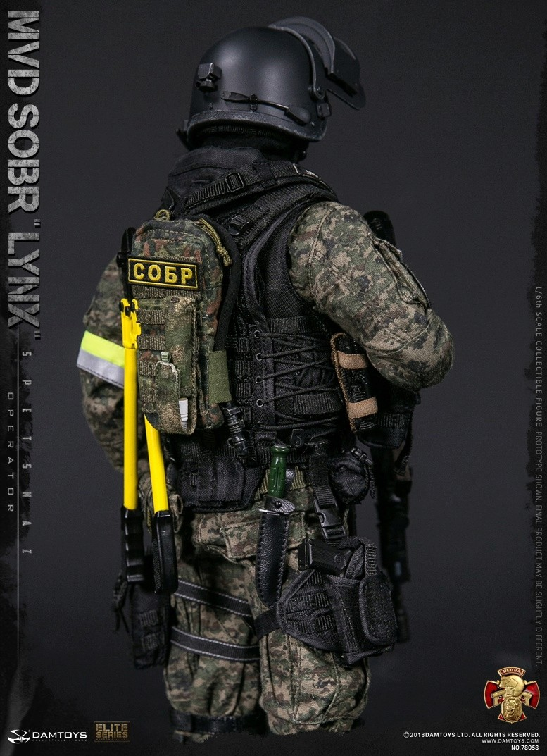 NEW PRODUCT: DAMTOYS : 1/6 RUSSIAN SPETSNAZ MVD - SOBR LYNX Action Figure (78058#) 15111110