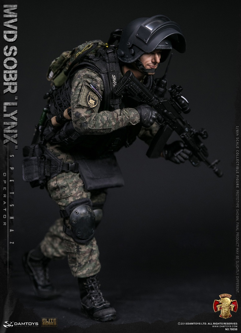 NEW PRODUCT: DAMTOYS : 1/6 RUSSIAN SPETSNAZ MVD - SOBR LYNX Action Figure (78058#) 15111310