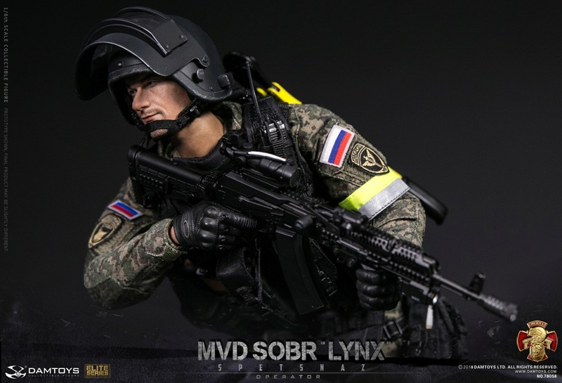 NEW PRODUCT: DAMTOYS : 1/6 RUSSIAN SPETSNAZ MVD - SOBR LYNX Action Figure (78058#) 15111311