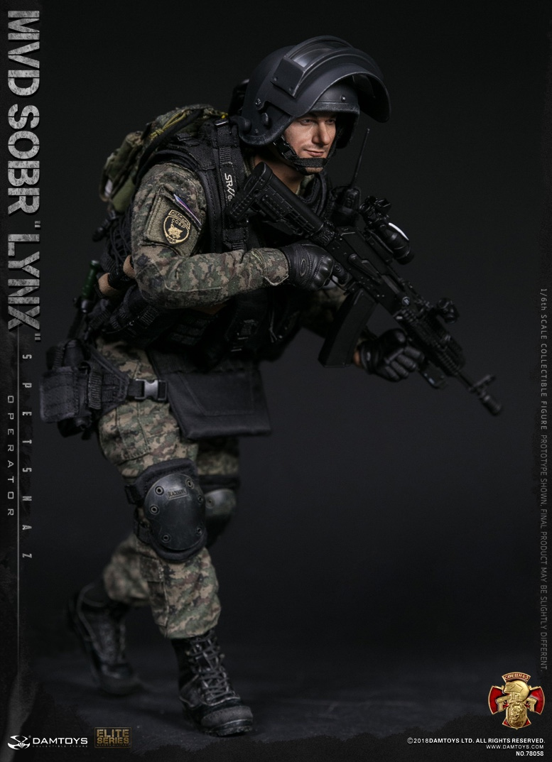NEW PRODUCT: DAMTOYS : 1/6 RUSSIAN SPETSNAZ MVD - SOBR LYNX Action Figure (78058#) 15111410