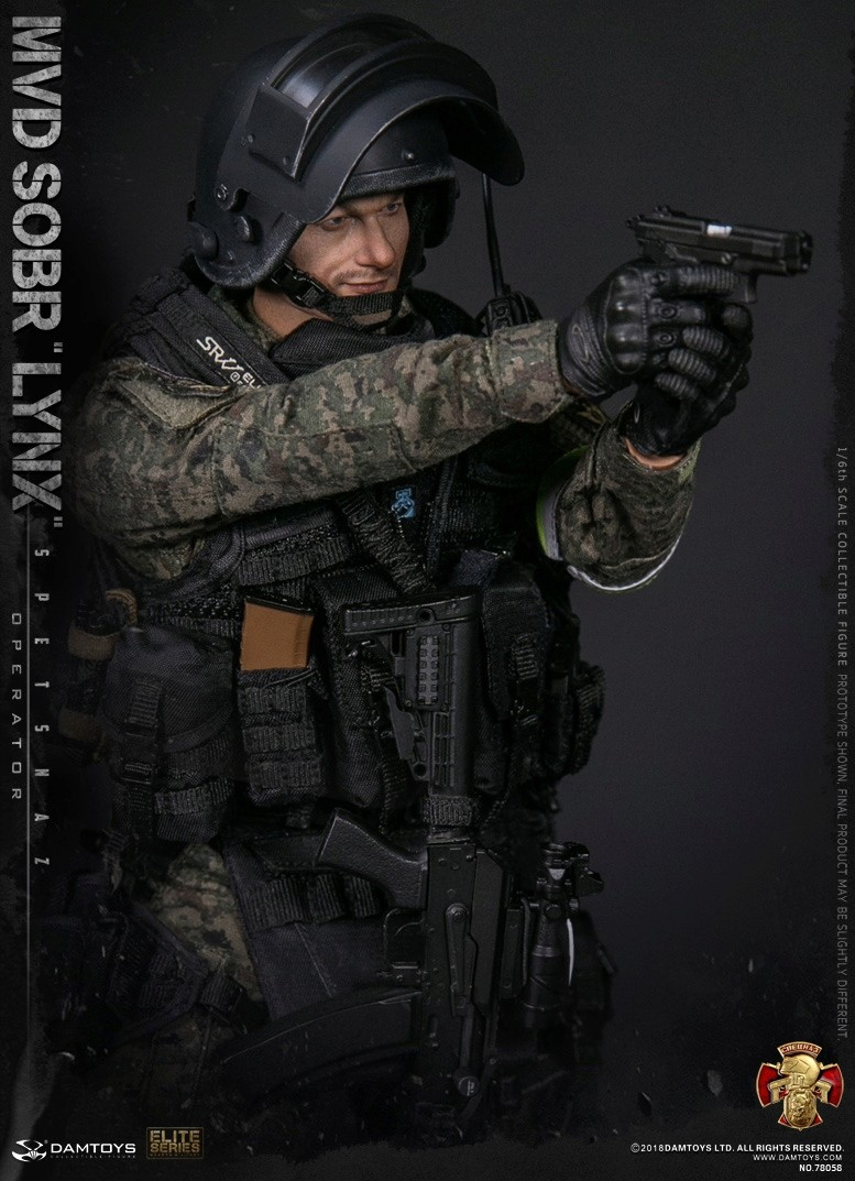 NEW PRODUCT: DAMTOYS : 1/6 RUSSIAN SPETSNAZ MVD - SOBR LYNX Action Figure (78058#) 15111610