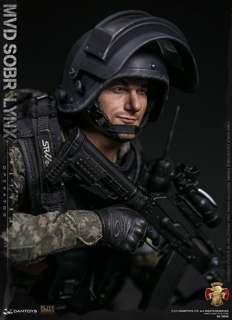 NEW PRODUCT: DAMTOYS : 1/6 RUSSIAN SPETSNAZ MVD - SOBR LYNX Action Figure (78058#) 15125510