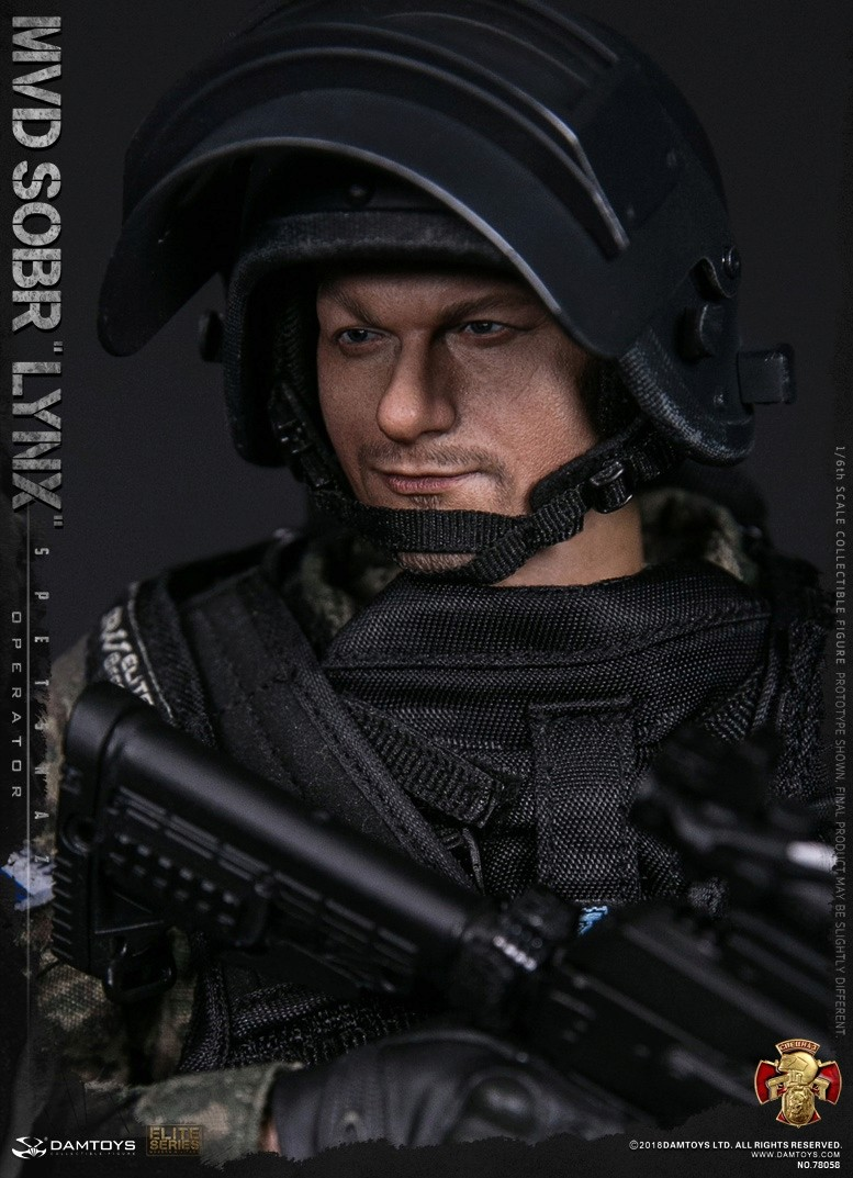 NEW PRODUCT: DAMTOYS : 1/6 RUSSIAN SPETSNAZ MVD - SOBR LYNX Action Figure (78058#) 15125610