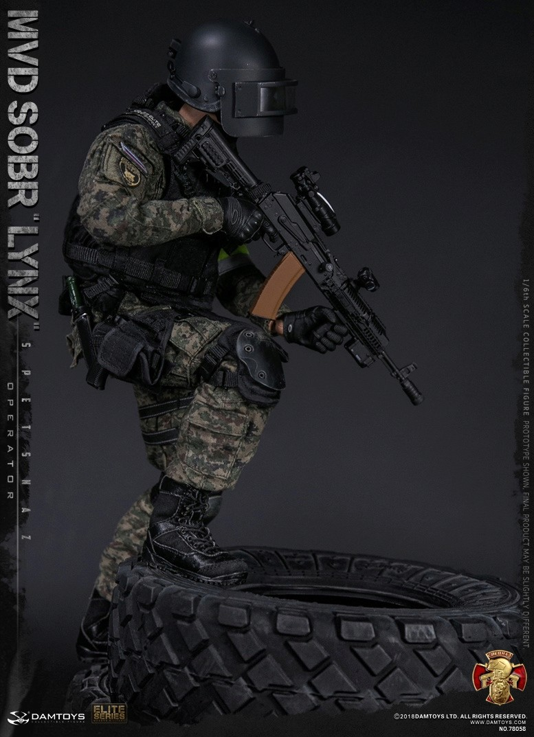 NEW PRODUCT: DAMTOYS : 1/6 RUSSIAN SPETSNAZ MVD - SOBR LYNX Action Figure (78058#) 15125710