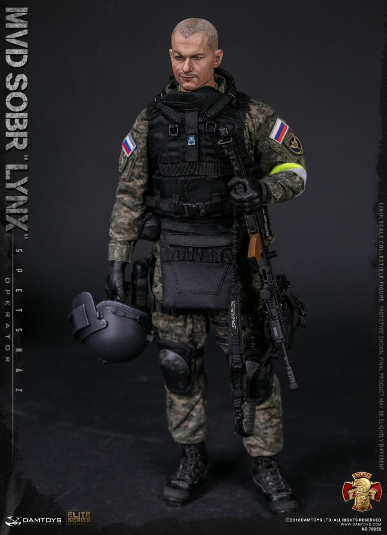NEW PRODUCT: DAMTOYS : 1/6 RUSSIAN SPETSNAZ MVD - SOBR LYNX Action Figure (78058#) 15125810