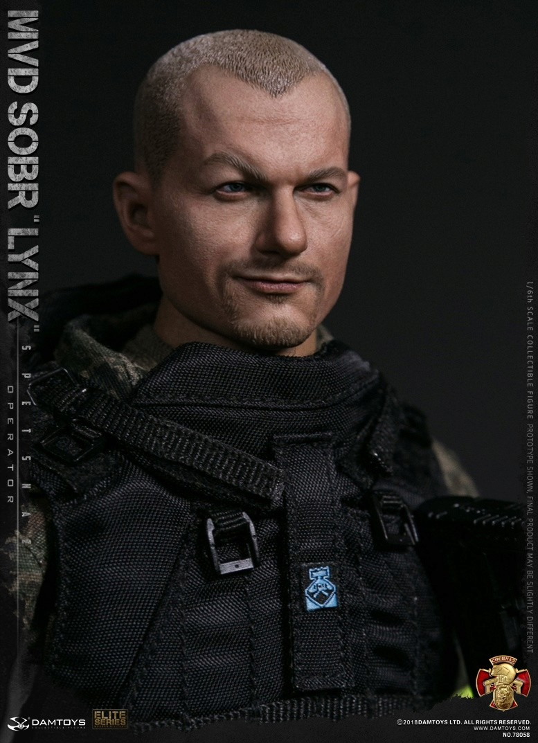 NEW PRODUCT: DAMTOYS : 1/6 RUSSIAN SPETSNAZ MVD - SOBR LYNX Action Figure (78058#) 15125910